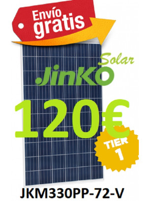 PLACA SOLAR 330 W JINKO EAGLE 5BB