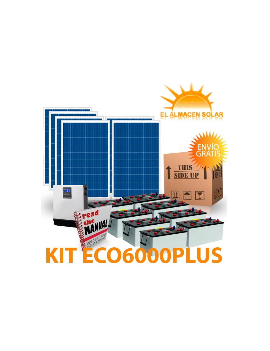 KIT DE ENERGIA SOLAR  ECO6000PLUS