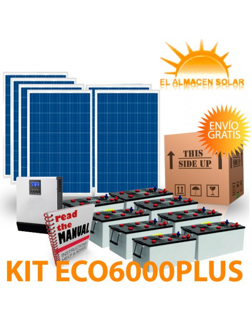 KIT SOLAR ECO6000PLUS