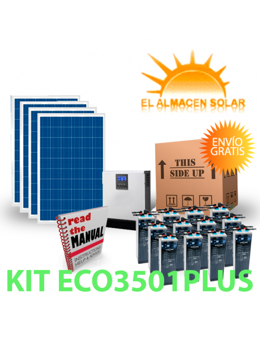 KIT FOTOVOLTAICOS ECO3501PLUS